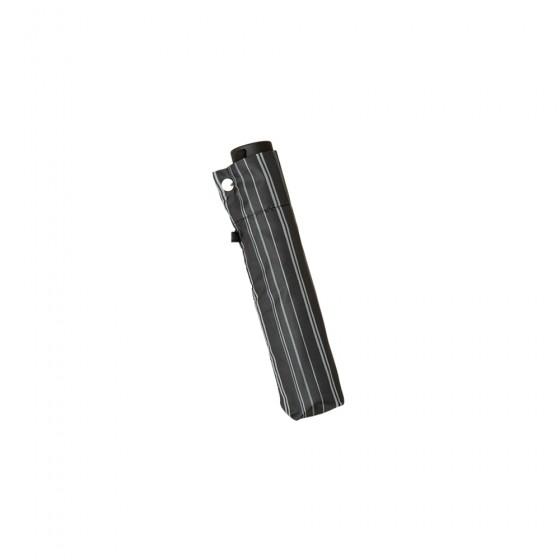 60cm ミニ 耐風骨 ポンジ プリント ストライプ シルバーコーティング/イメージ02
